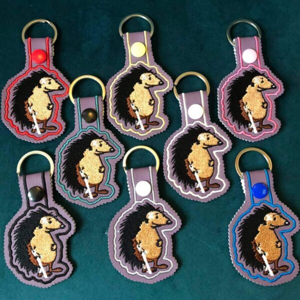 Hedgehog Keyrings